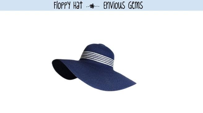 Envious Gems Floppy Hat Summer 2016