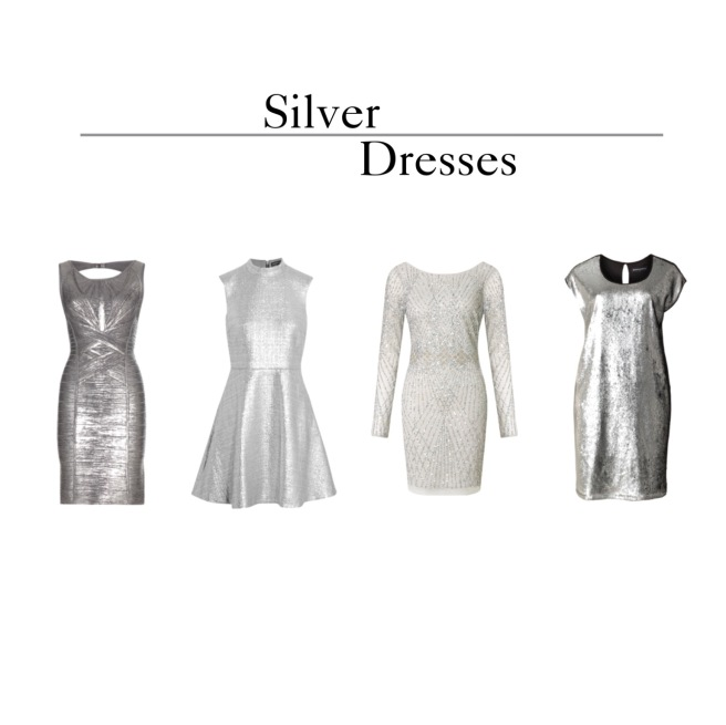 Envious Gems Summer Silver Dresses 2016