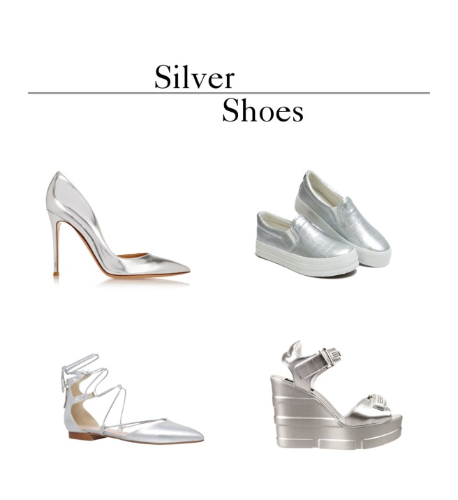 Envious Gems Summer Silver Shoes 2016