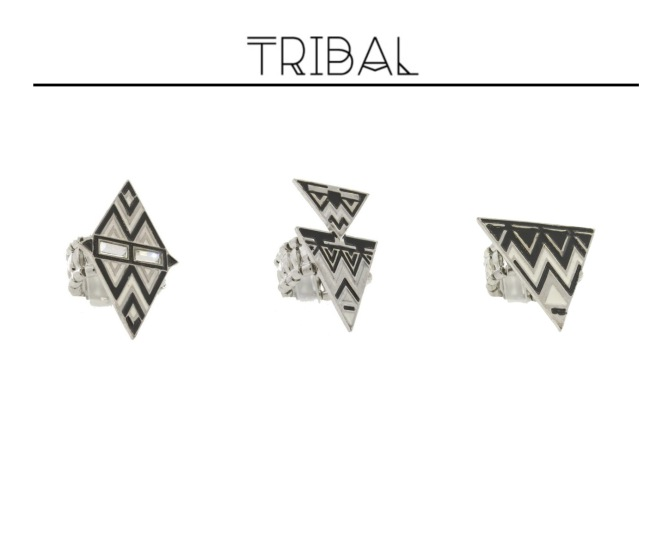 Envious Gems Summer Tribal Black White Jewelry 2016