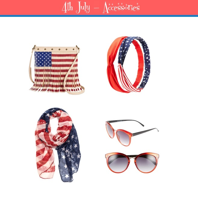 Envious Gems July 4th Independance Day Accessories 2016
