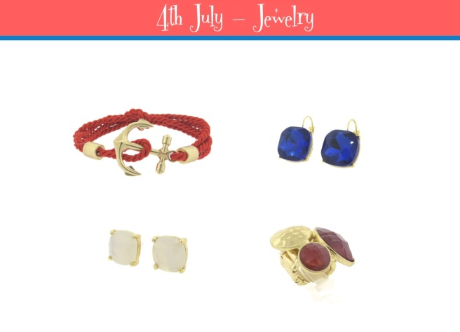 Envious Gems July 4th Independance Day Jewelry 2016
