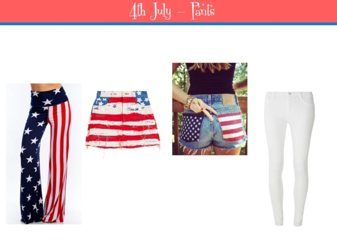 Envious Gems July 4th Independance Day Pants 2016