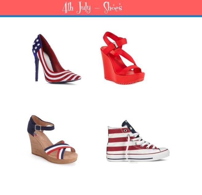 Envious Gems July 4th Independance Day Shoes 2016
