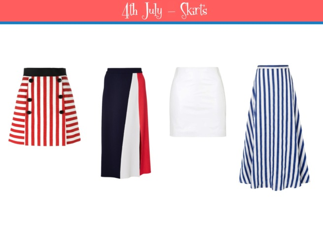 Envious Gems July 4th Independance Day Skirts 2016