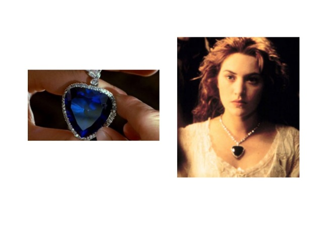 Titanic Heart of the Ocean Jewelry Interesting Facts
