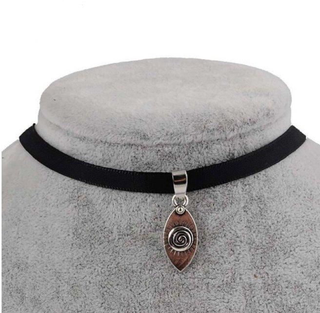 Envious Gems Black Velvet Ribbon Evil Eye Choker Necklace