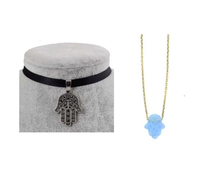 Envious Gems Hamsa Hand Fall Jewelry 2016