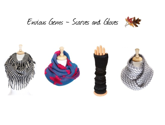 Envious Gems Scarves Gloves Fall Winter Jewelry Accessories