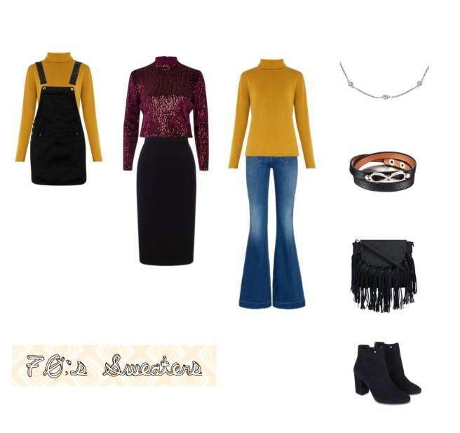 Envious Gems 70s Turtle Neck Sweater Fashion Jewelry Winter 2016