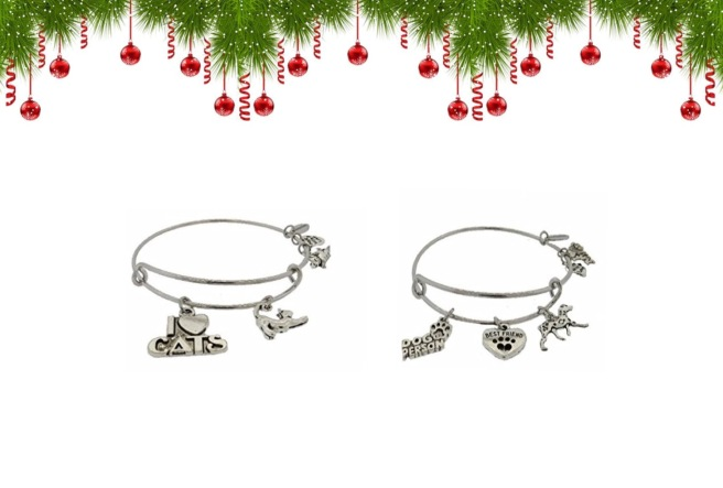 Envious Gems Christmas Cat Dog Pet Bracelet Jewlery Winter 2016
