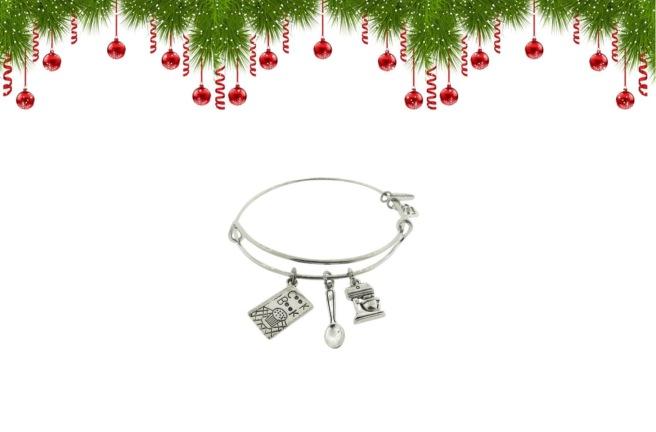 Envious Gems Christmas Cooking Baking Bracelet Jewlery Winter 2016