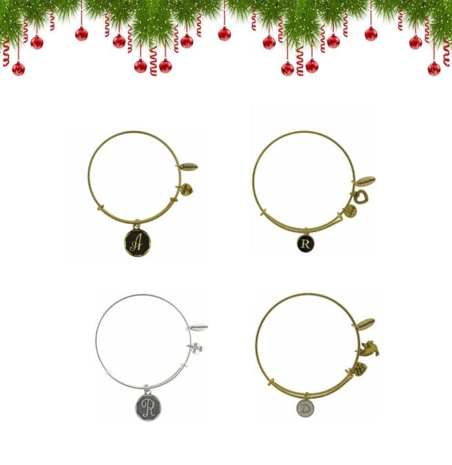 Envious Gems Christmas Initial Jewlery Winter 2016