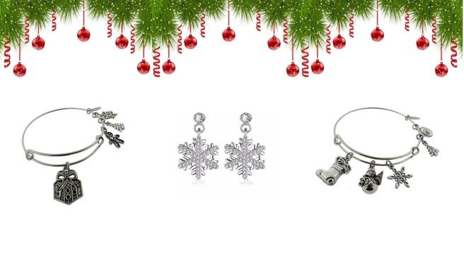 Envious Gems Christmas Snowflake Jewlery Winter 2016