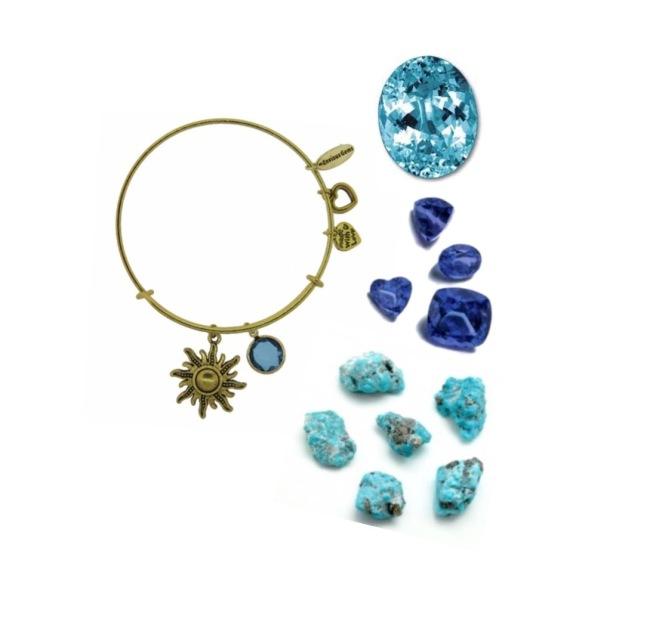 Envious Gems December Charm Bracelet Winter 2016