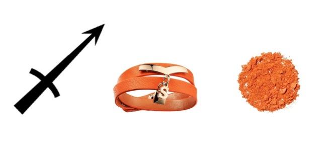 Envious Gems December Orange Bracelet Winter 2016