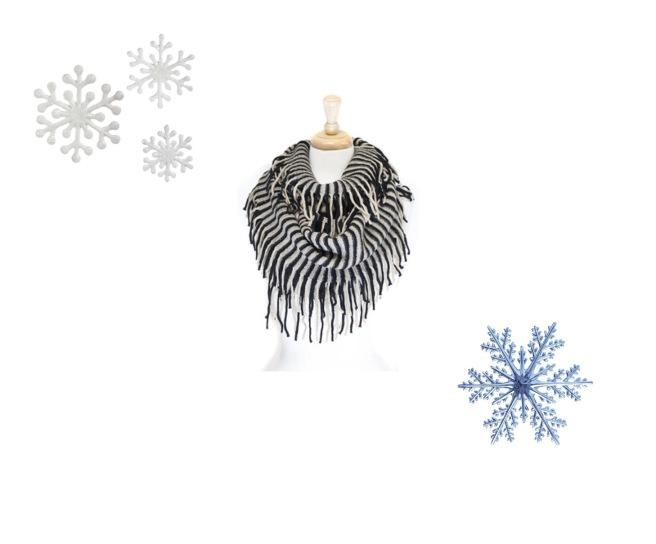 Envious Gems December Scarf Winter 2016