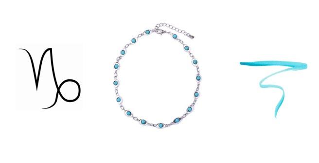 Envious Gems December Turquoise Choker Winter 2016