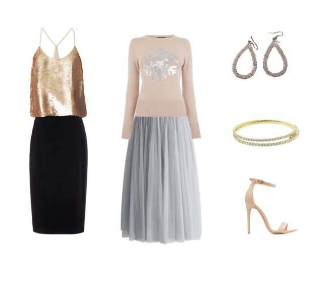 Envious Gems Holiday Style Tips Midi Skirts and Jewlery