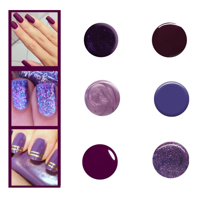 Envious Gems Purple Nail Trend 2016
