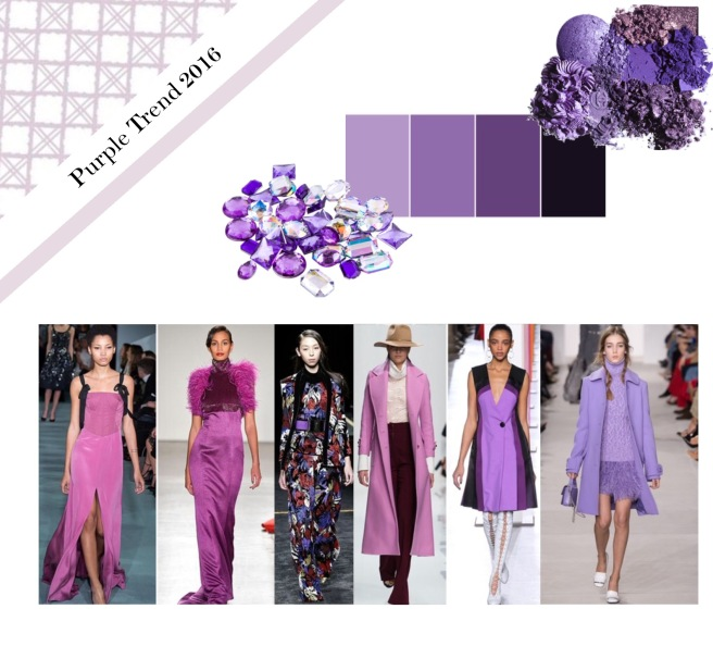 Envious Gems Purple Trend 2016