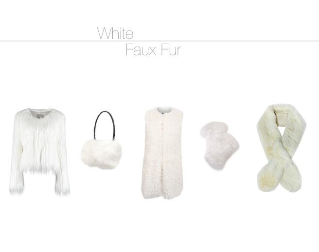 Envious Gems White Faux Fur Fashion Winter 2016