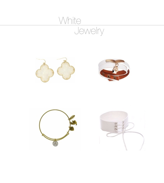 Envious Gems White Jewelry Fashion Winter 2016