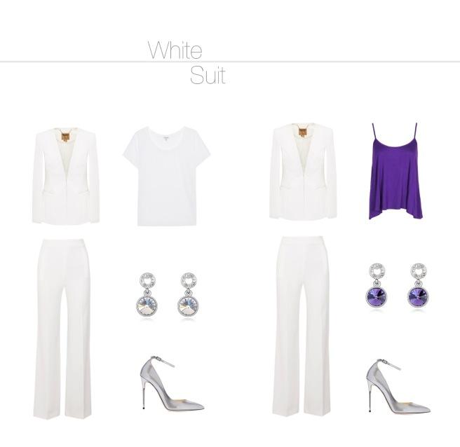 Envious Gems White Suit Fashion Winter 2016