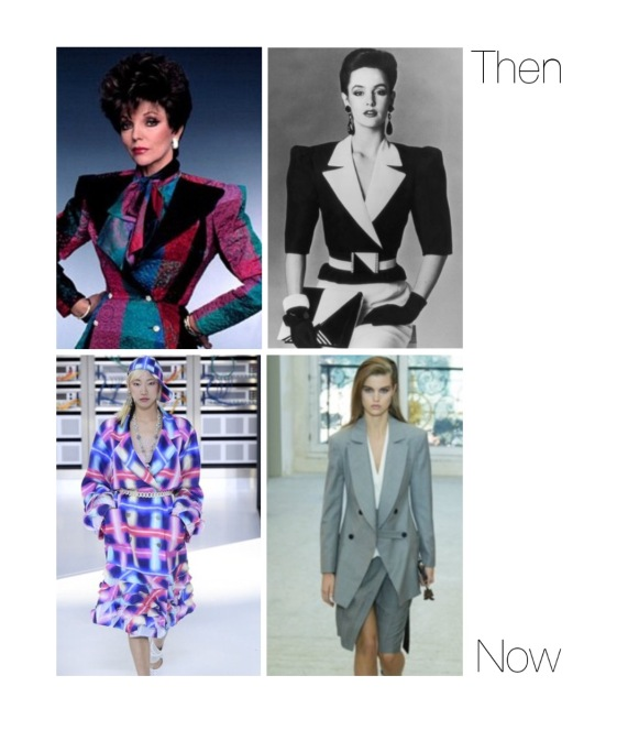 Envious Gems 80s Shoulder Pads Fashion Trend Spring 2017