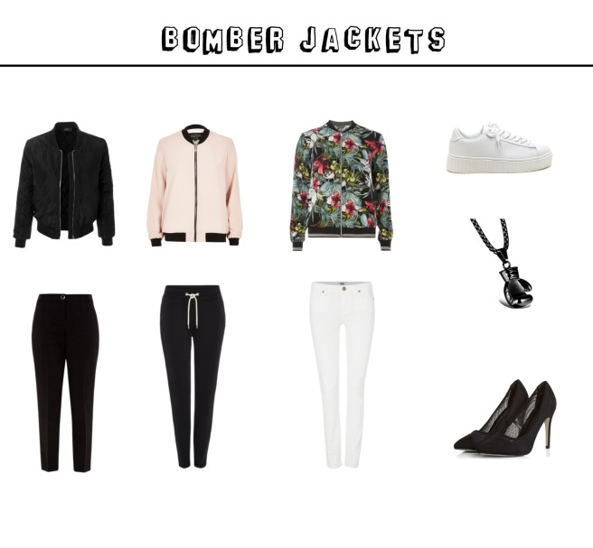 Envious Gems Sports Spring 2017 Bomber Jacket Fashion and Jewelry
