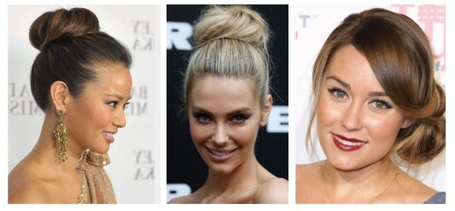 Envious Gems Hair Up Do Bun Valentine's Day 2017