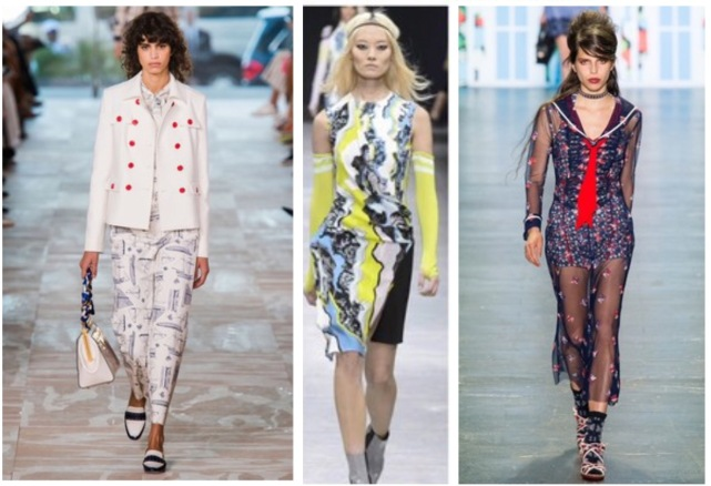 Envious Gems Nautical Print Inspiration Spring Summer 2017