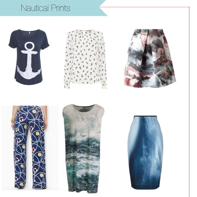 Envious Gems Nautical Prints Fashion Spring Summer 2017