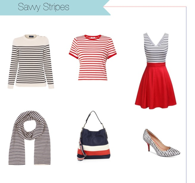 Envious Gems Nautical Stripe Fashion Spring Summer 2017
