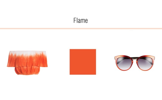 Envious Gems Pantone Spring 2017 Flame