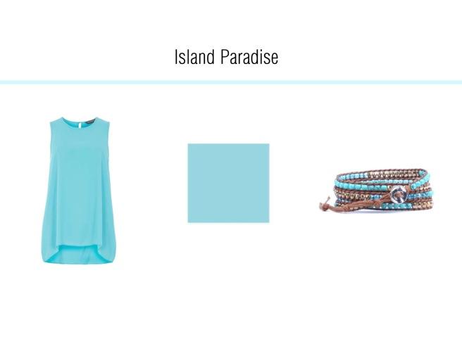 Envious Gems Pantone Spring 2017 Island Paradise