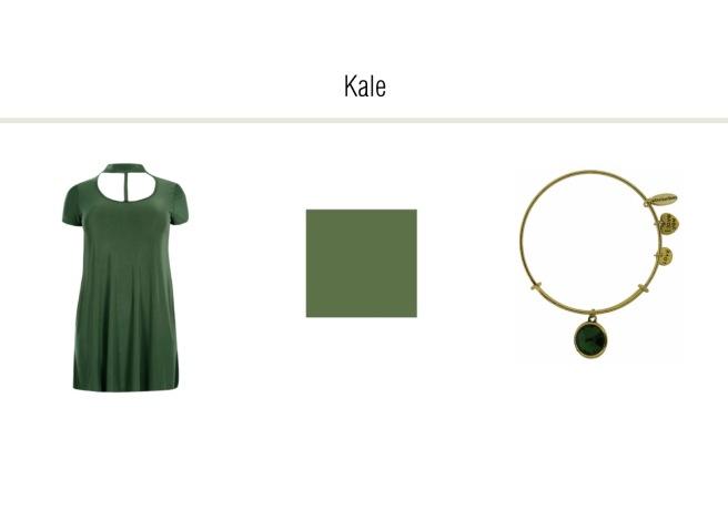 Envious Gems Pantone Spring 2017 Kale