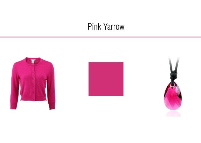 Envious Gems Pantone Spring 2017 Pink Yarrow