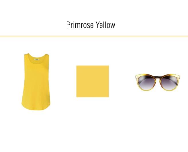 Envious Gems Pantone Spring 2017 Primrose Yellow