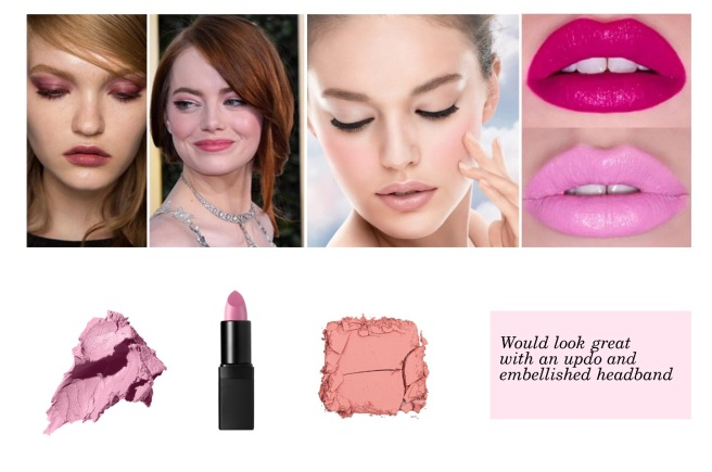 Envious Gems Pink Makeup Valentine's Day 2017