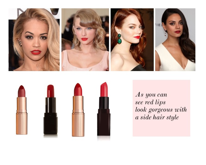 Envious Gems Red Lipstick Makeup Valentine's Day 2017