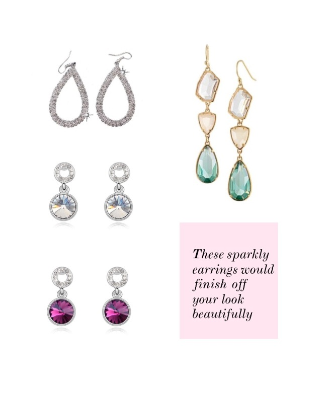 Envious Gems Statement Earrings Valentine's Day 2017