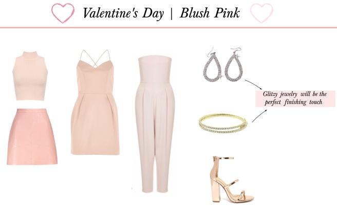 Envious Gems Valentine's Day 2017 Blush Pink Fashion Jewelry