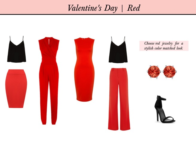 Envious Gems Valentine's Day 2017 Red Fashion Jewelry