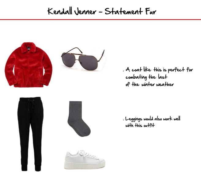 Kendall Jenner 2 NYFW 2017 Fur Envious Gems